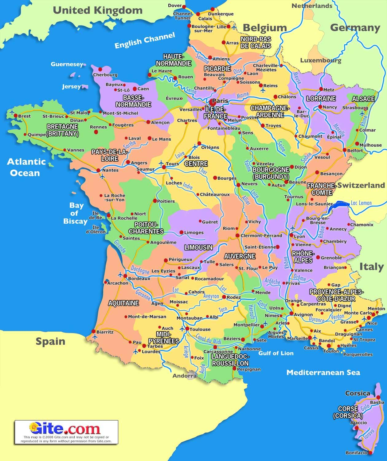 Calais Europe Map.France Map France In A Map Western Europe Europe