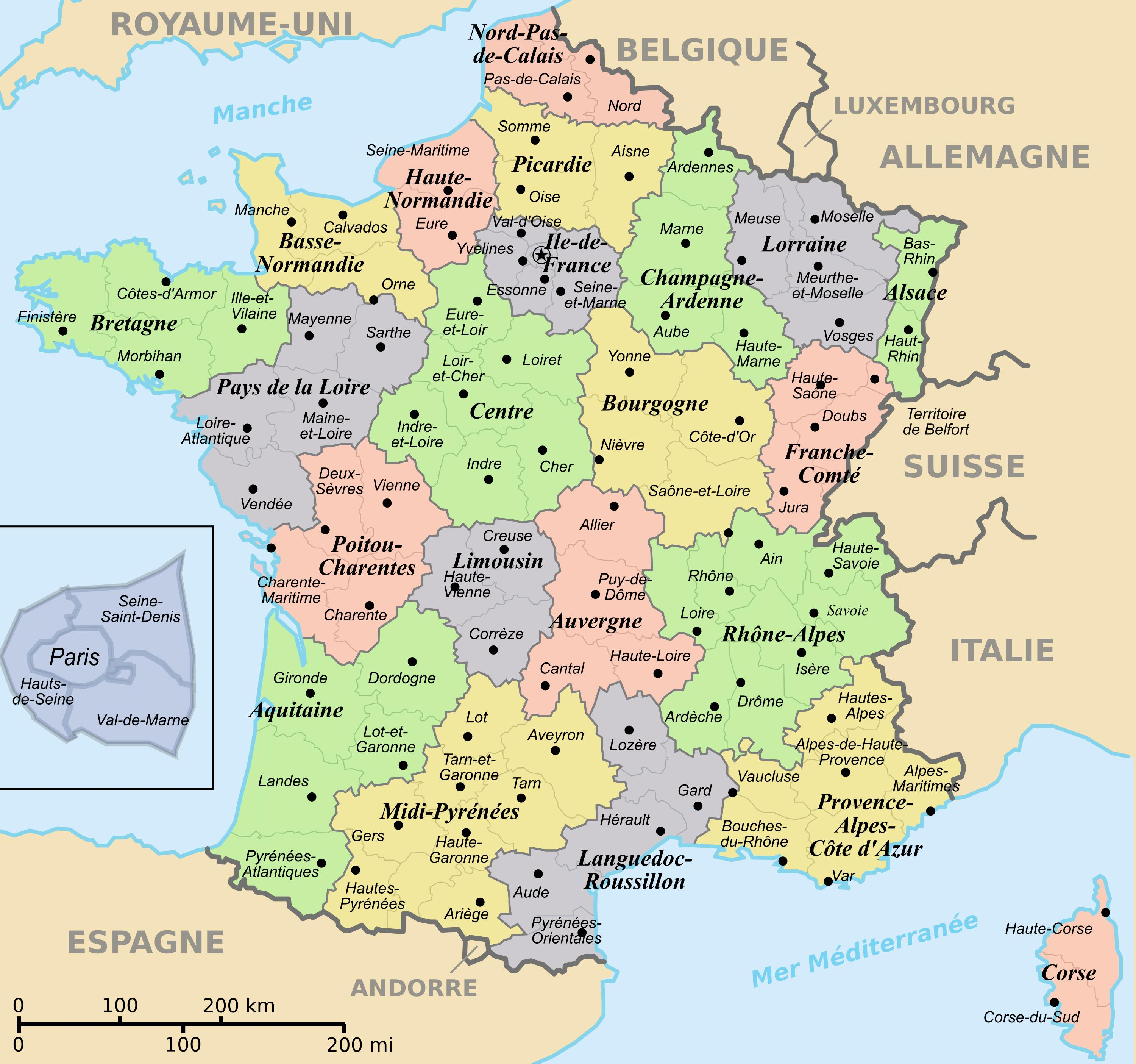 Interactive Map Of France Things To See In France Map Western