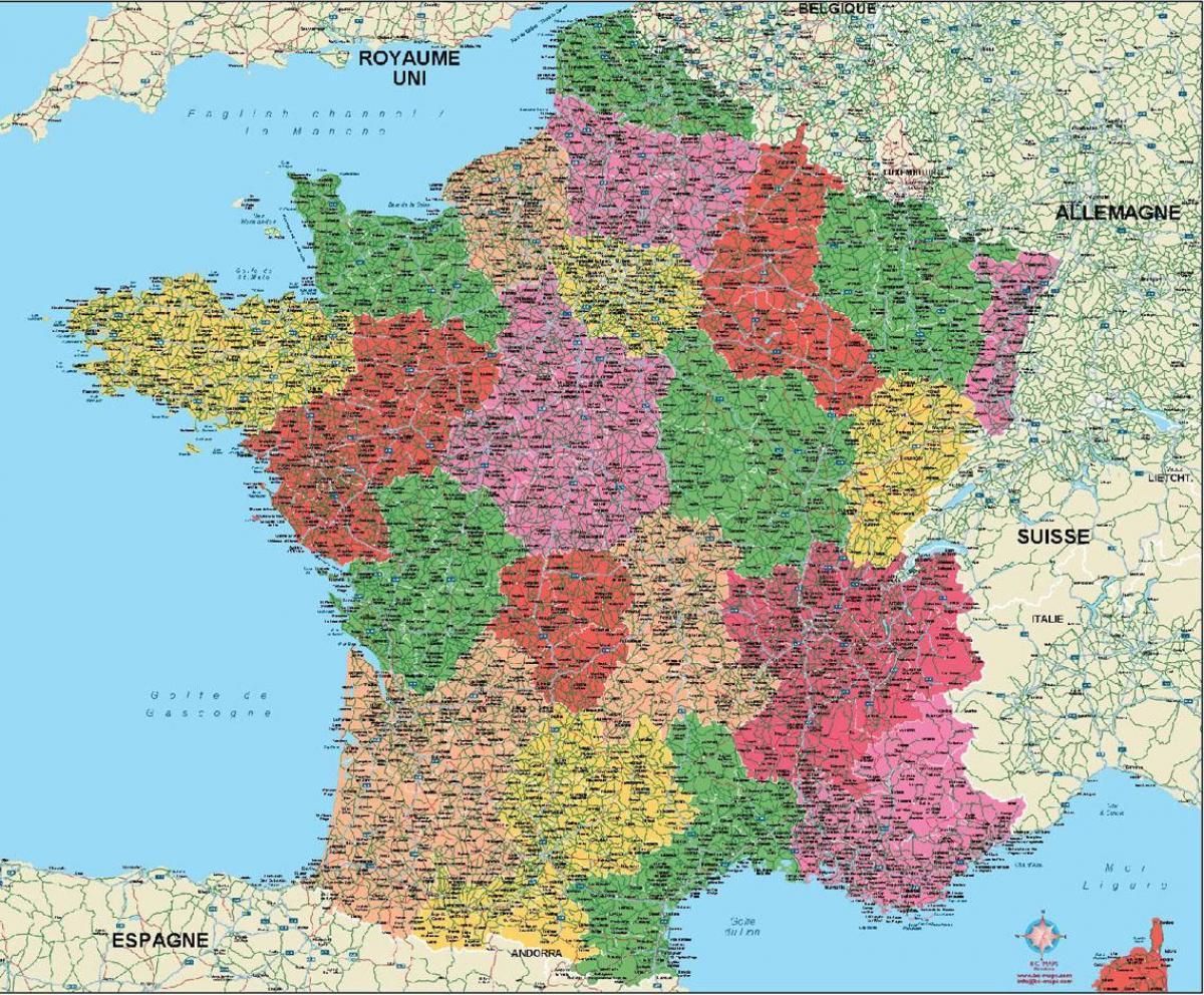 Map Of France Pdf.France Map Pdf Map France Pdf Western Europe Europe