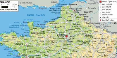 Map Of North France.France Map Maps France Western Europe Europe