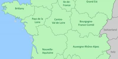 Show map of France